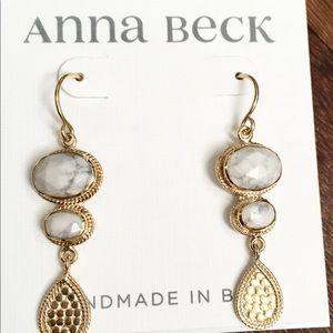 NWT $315 Anna Beck drop earrings